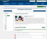 Kindergarten Module 1: Numbers to 10