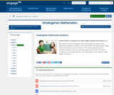 Grade K Module 3: Comparison of Length, Weight, Capacity, and Numbers to 10