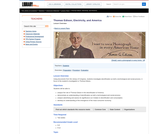 Thomas Edison, Electricity, and America