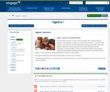 Algebra I Module 2: Descriptive Statistics