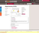 Biogeochemistry of Sulfur, Fall 2007