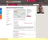 Advanced Stochastic Processes, Fall 2013