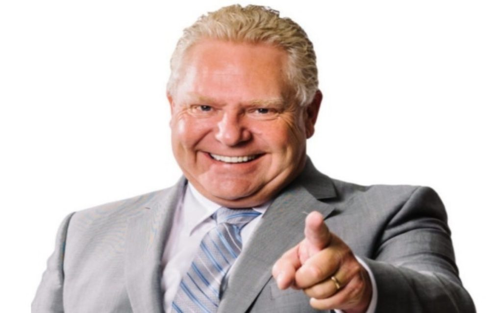Doug Ford Wants Government To Butt Out Of The Cannabis