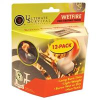 20-1WG0412-BX12<br>Wetfire Starting Tinder - 12 Pack