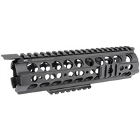 MI-18SS-BLK<br> MI SS-Series Mid-Length Two Piece Drop-In Handguard, Black
