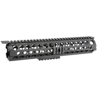 MI-19SS-BLK<br> MI SS-Series Rifle-Length Two Piece Drop-In Handguard, Black
