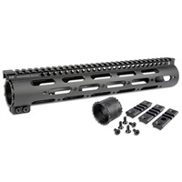 MI-308SS12-DL <br>DPMS .308/7.62 NATO SS-Series One Piece Free Float Handguard, .150 Upper Tang