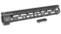 MI-AR10SSM12- MI Armalite AR10 One Piece Free Float Handguard, M-LOK(TM) compatible