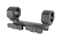 MI-QD1SMHD-BLK<br>MI 1.0 Inch Heavy Duty QD Scope Mount, Zero Offset-Black