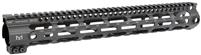 MI-SSM15G3-BLK <br>MI G3 SSM-Series One Piece Free Float Handguard, M-LOK(TM) compatible - Black
