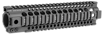 MI-T10G2-BLK<br>MI Gen2 T-Series One Piece Free Float Handguard, 10-inch Carbine Black