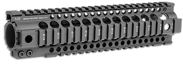 MI-T10G2-BLK MI Gen2 T-Series One Piece Free Float Handguard, 10-inch  Carbine Black