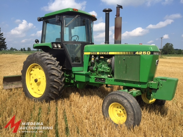 Record Price on John Deere 4250 Tractor!!