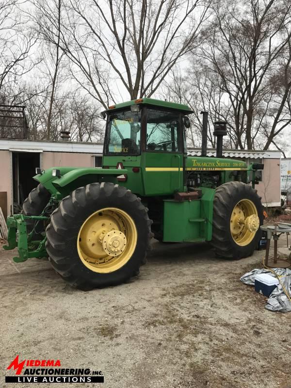 Spring Hudsonville Equipment Auction