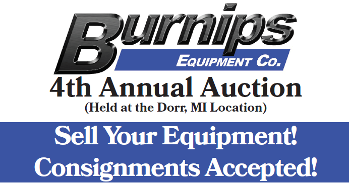 Burnips Equipment Company – Annual Auction