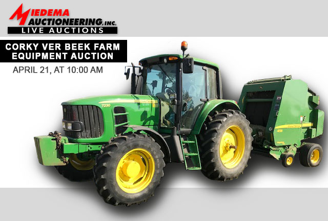 Corky Ver Beek Farm Equipment Auction