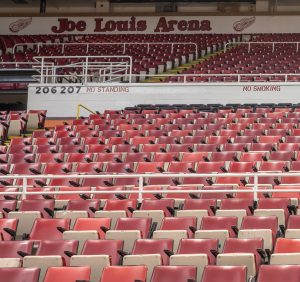 Joe Louis Arena seats