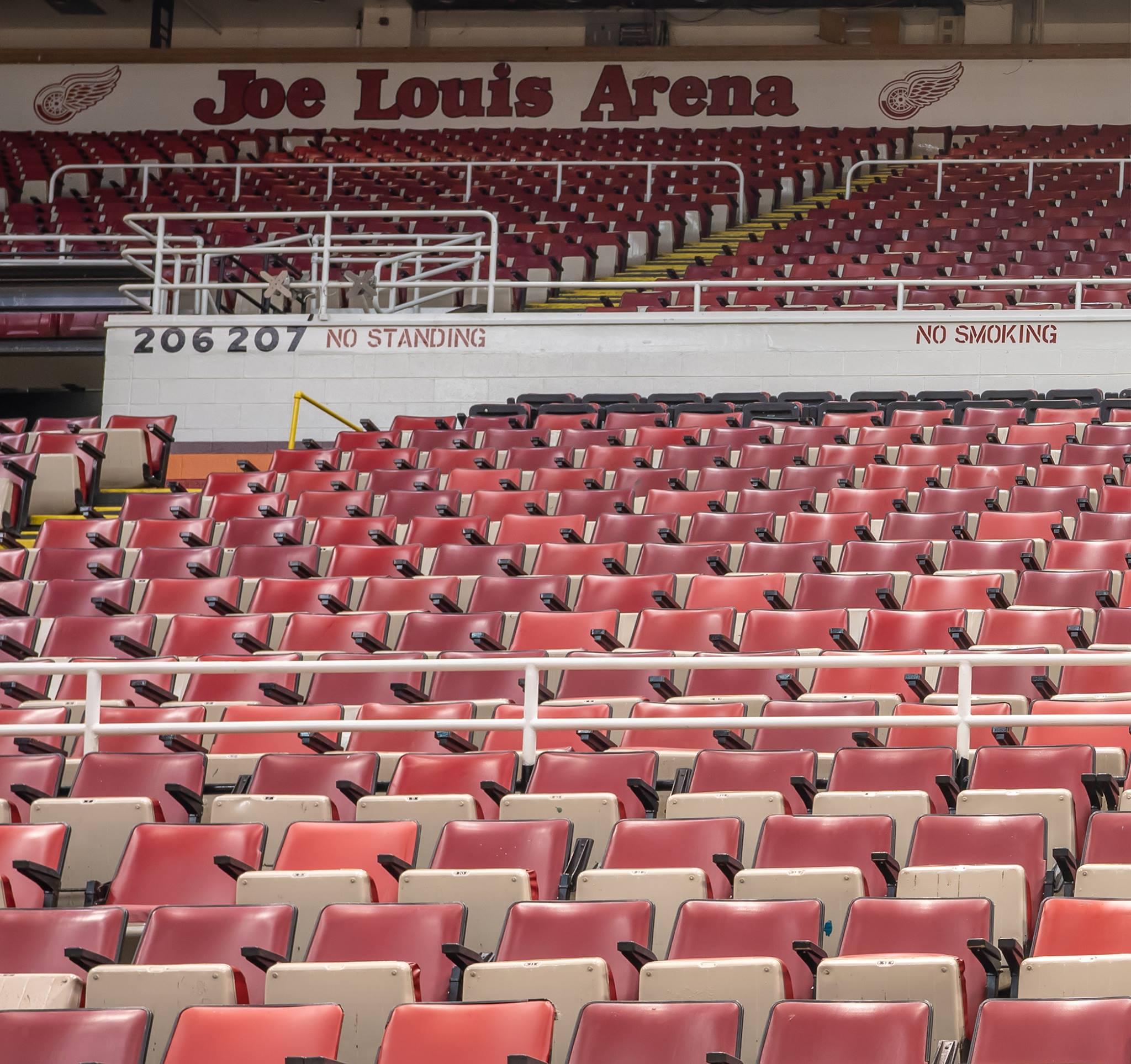 Buy Iconic Joe Louis Arena Seats!