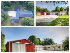 Home, Warehouse, Pole barn on 10 acres in Rockford MI! – Multi-Par LIVE Auction
