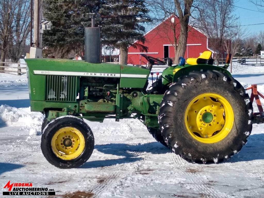 hudsonville fairgrounds equipment auction