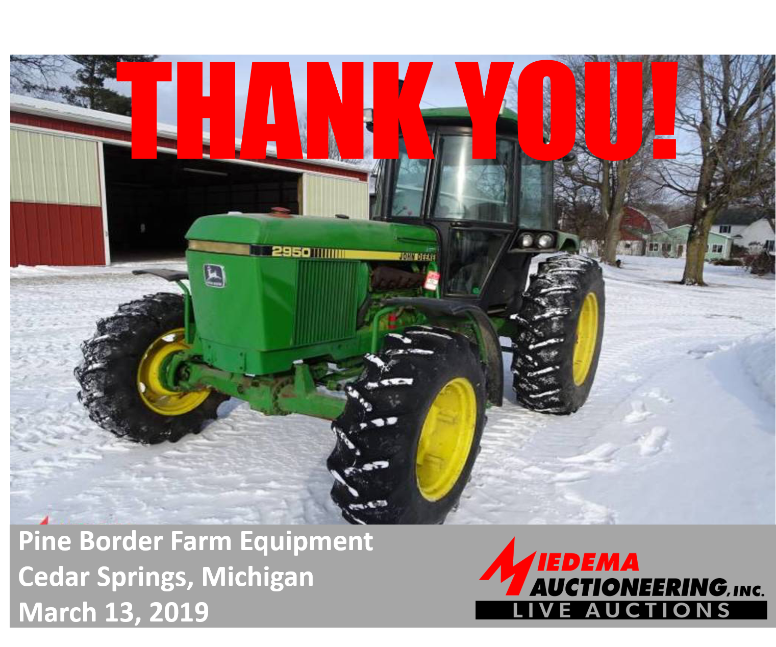 Auction Recap: Pine Border Farm Equipment