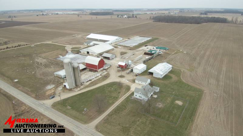Jef-Len Dairy Facility & Land | Miedema Auctioneering | Michigan