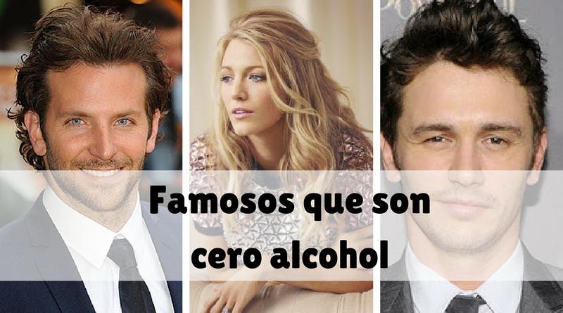 Famosos que son cero alcohol