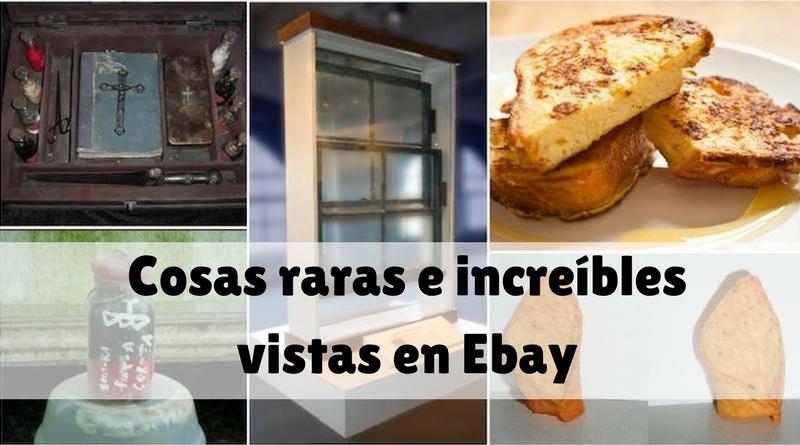 Cosas rara e increíbles vistas en ebay