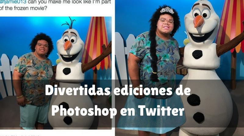 Divertidas ediciones de Photoshop en Twitter