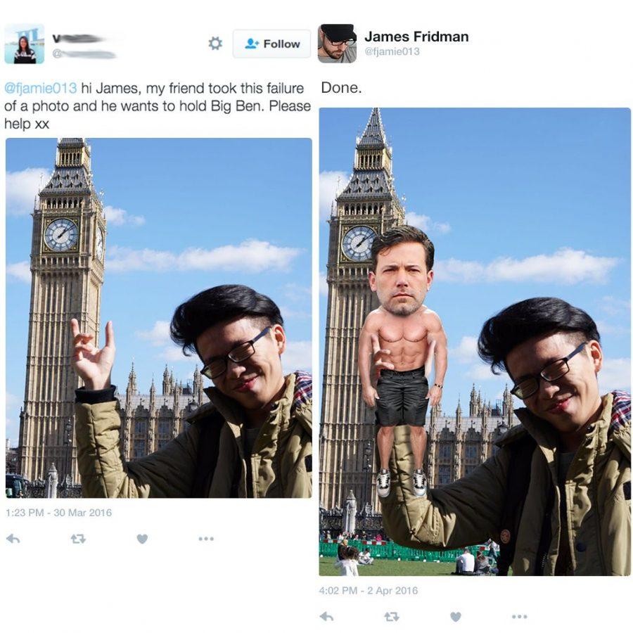 Divertidas ediciones de photoshop del famoso master trol James Fridman 3