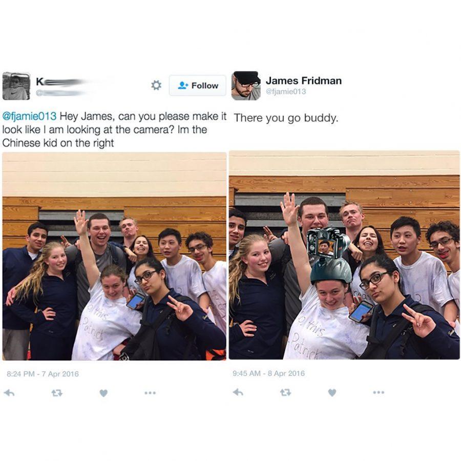 Divertidas ediciones de photoshop del famoso master trol James Fridman 1