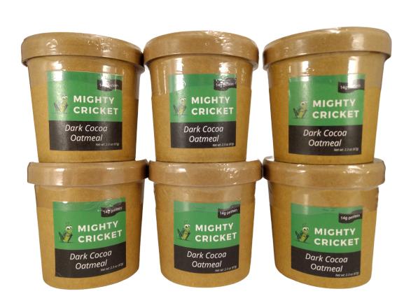Mighty Cricket Dark Cocoa Oatmeal High Protein Oatmeal