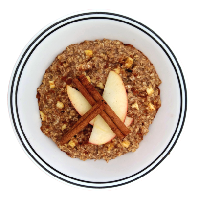 Mighty Cricket Apple Cinnamon Bowl Into Vegan