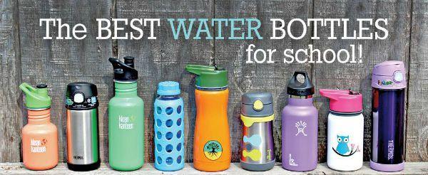 Guide to the Best Water Bottles for School - MightyNest