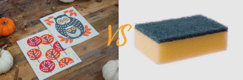 Swedish Dishcloths vs Synthetic Sponges the choice is clear
