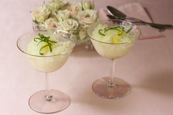 Lemond basil italian ice