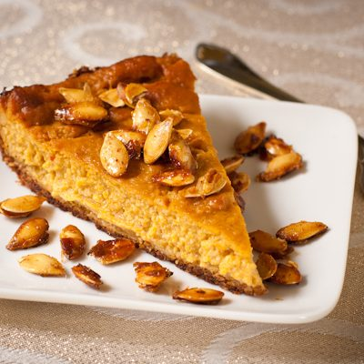 How to make vegan pumpkin cheesecake