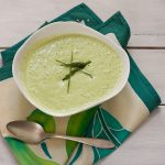 Cream of Asparagus Soup | Dairy-free, migraine-friendly, vegan from Stephanie Weaver, MPH, CWHC