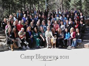 Camp Blogaway campers