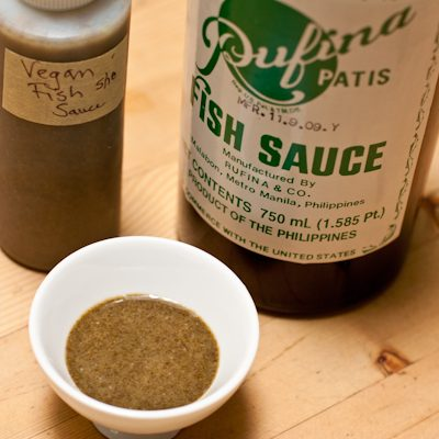 How to make vegan fish sauce