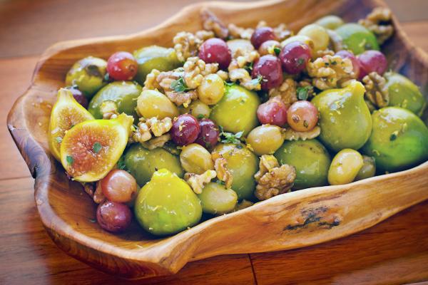 Roasted Figs Grapes glutenfree sugarfree