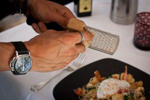 Grating Bottarga Glutenfree Pasta BICE ristorante