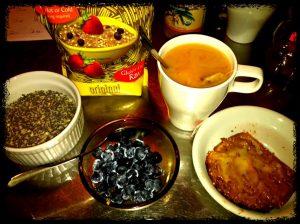 Travelling breakfast gluten-free