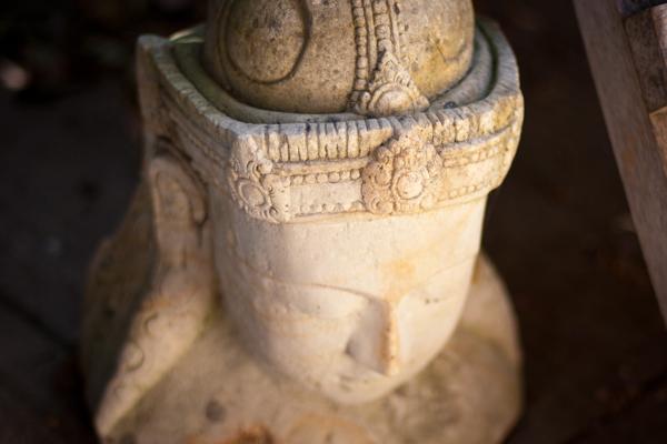 Sculpture serene buddha