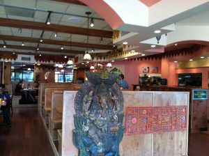 Interior of Lotus Cafe in Hillcrest