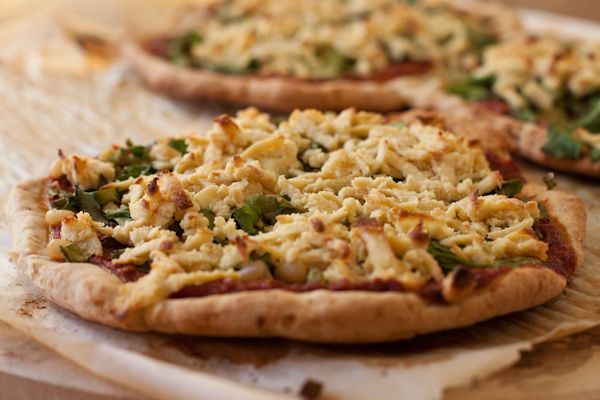 Cashew Cheese Pizza