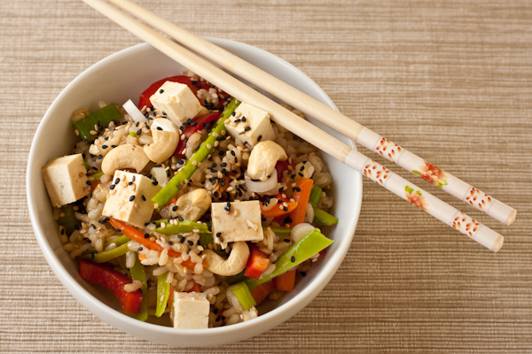 Asian Rice Bowl Salad