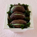 Mint Chocolate Whoopie Pies