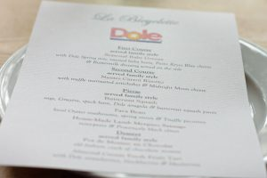 La Bicyclette restaurant menu