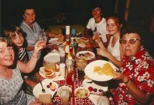 Family picnic 1973